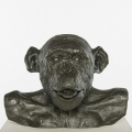 Chimp Busts HAM (Tongue) #4 Bronze, 2011
