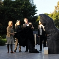 Adelaide Zoo Ape Finger, ICommission launch with Jane Goodall 2011